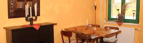 Tisch im Landgasthof Rieben